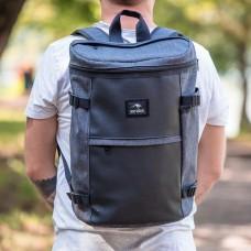 Городской рюкзак Bag Magic Camping серый