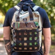 Городской рюкзак Bag Magic Plexus Camo камуфляжный