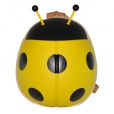 Рюкзак дошкільний SUPERCUTE у вигляді божої корівки жовтий