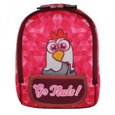 Рюкзак дошкільний KOKONUZZ-GO NUTS з куркою малиновий