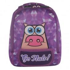 Рюкзак дошкільний KOKONUZZ-GO NUTS зі свинею фіолетовий