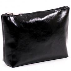 Жіноча косметичка шкіряна CB010401-black наплак чорна