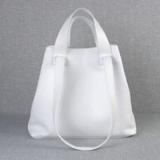 Сумка шкіряна жіноча S560105-white біла