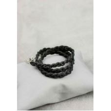 Браслет тонка кіска графіт BLANKNOTE BN-BR-5-g