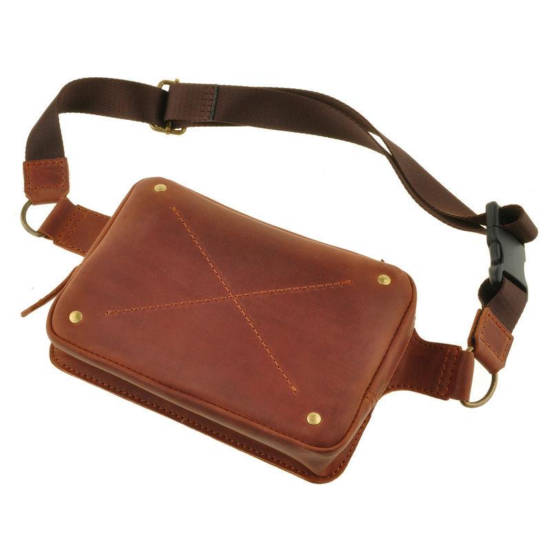 863790451a11 Сумка напоясная DropBag коньячная — купить в интернет-магазине ...