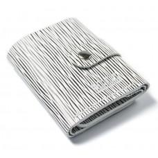 Шкіряний гаманець Bogz «Рол» зебра P18M52S4