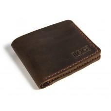 Портмоне кожаное BOGZ «Жан» P25M7S3 коричневое