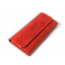 Шкіряний гаманець Bogz «Медісон» P4M39S1 червоний