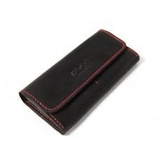 Шкіряний гаманець Bogz «Медісон» P4M5S1 чорний