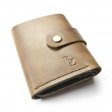Кожаный кошелёк BOGZ «Ролл» P18M41S3 коричневый