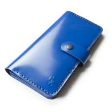 Шкіряний гаманець BOGZ «Мадлен» P19M33S8 синій