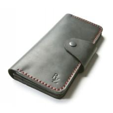 Кожаный кошелёк BOGZ «Мадлен» P19M5S1 черный