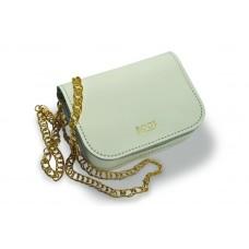 Женская кожаная сумка на цепочке BOGZ «Шамира» P20M23S4 белая