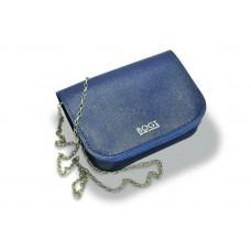 Женская кожаная сумка на цепочке BOGZ «Шамира» P20M26S8 синяя