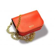 Женская кожаная сумка на цепочке BOGZ «Шамира» P20M27S1 красная