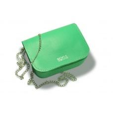 Женская кожаная сумка на цепочке BOGZ «Шамира» P20M28S4 зеленая