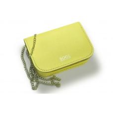 Женская кожаная сумка на цепочке BOGZ «Шамира» P20M30S4 желтая