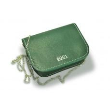 Женская кожаная сумка на цепочке BOGZ «Шамира» P20M31S4 зеленая