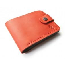 Кошелёк кожаный классический BOGZ «Макси» P24M39S1 красный