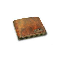 Кошелёк кожаный классический BOGZ P2M1M6S1 коричневый