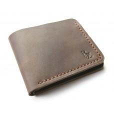 Кошелёк кожаный классический BOGZ P2M7S3 коричневый