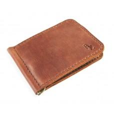 Зажим для денег обычный BOGZ P34M10S3 коричневый