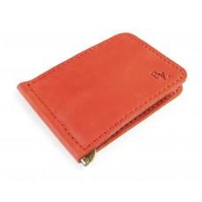 Зажим для денег обычный BOGZ P34M39S1 красный