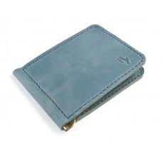 Зажим для денег обычный BOGZ P34M40S8 голубой