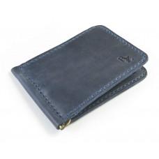 Зажим для денег обычный BOGZ P34M8S8 синий