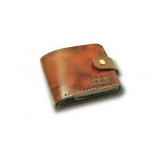 Кошелёк кожаный классический дополненный BOGZ P3M1M6S1 коричневый