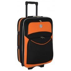 Чемодан Bonro Style маленький черно-оранжевый (102474)