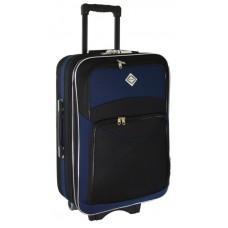 Чемодан Bonro Style маленький черно-темно синий (110115)
