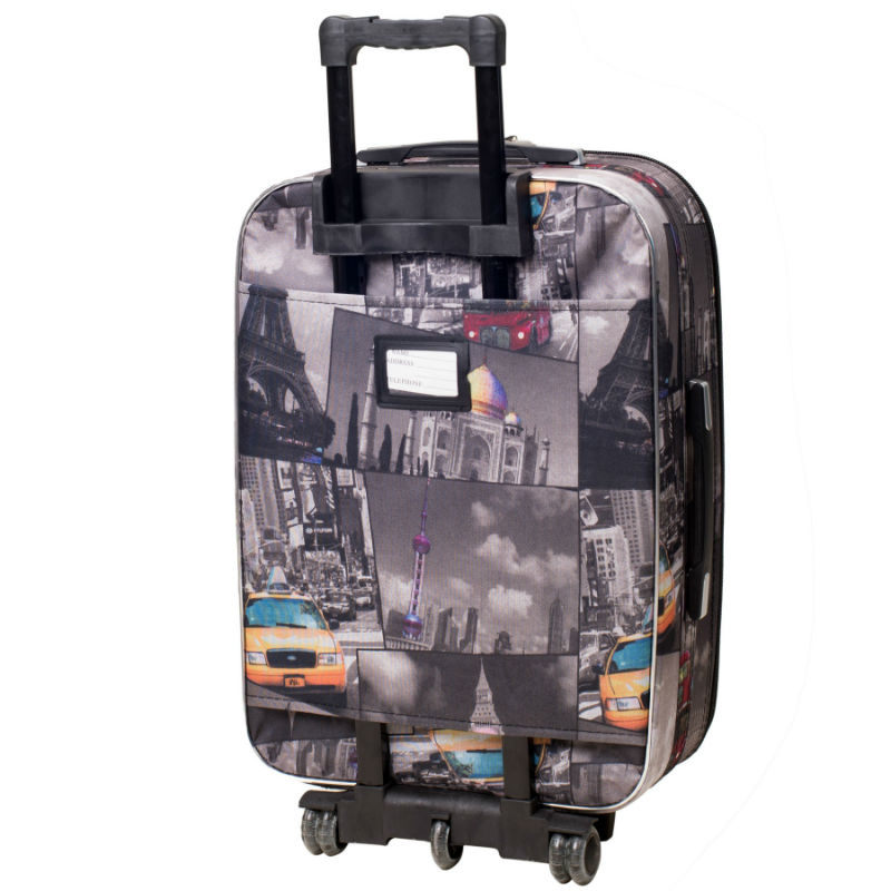 0dbd295eb8c8 Чемодан Bonro Style средний City (110203) купить онлайн в Киеве недорого