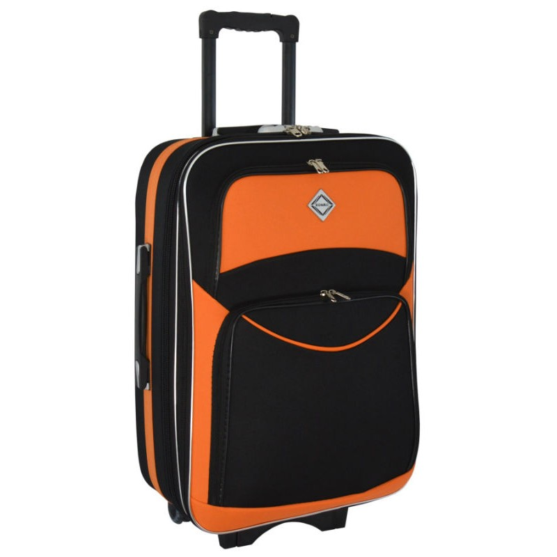 a43459ed238a Чемодан Bonro Style средний черно-оранжевый (102482) купить онлайн в ...