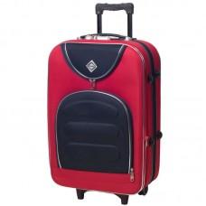 Чемодан Bonro Lux маленький красный-темно синий (110193)