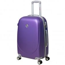 Валіза Bonro Smile велика з подвійними колесами фіолетова (110107)