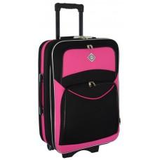 Чемодан Bonro Style маленький черно-розовый (110120)