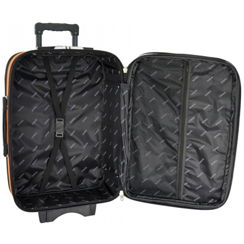 b3a8d8848af1 Чемодан Bonro Style средний черно-синий (102478) купить онлайн в ...