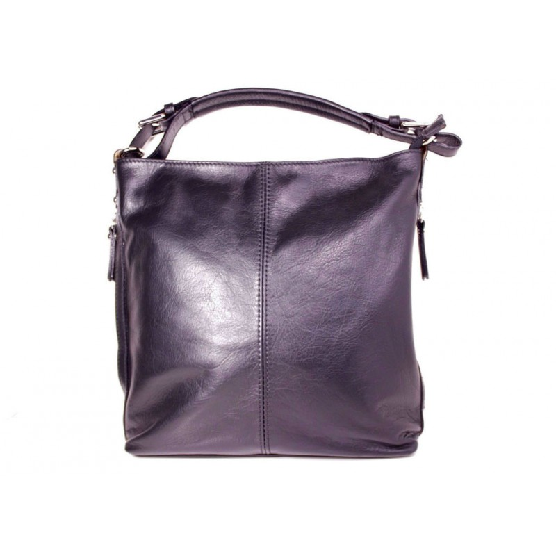 eb15ad4d74bc Женская кожаная сумка Тоут BIP0-001 черная Италия — купить недорого ...