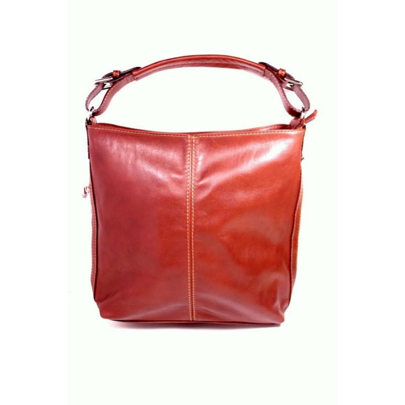 62dd314770a2 Женская кожаная сумка Тоут BIP0-004 коричневая Италия — купить ...