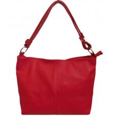 Шкіряна жіноча сумка Bottega Carele BC214-red червона
