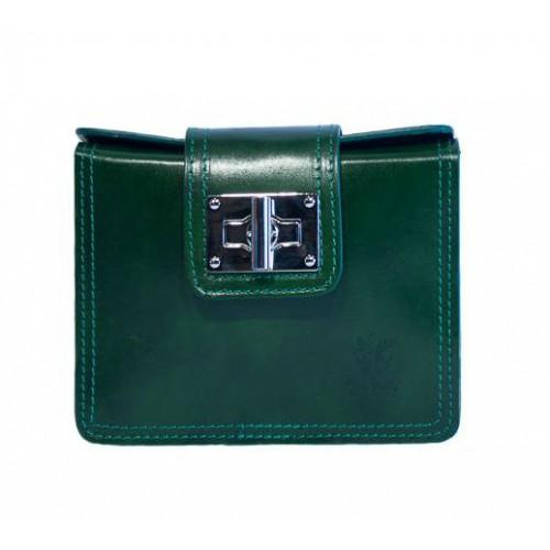 Шкіряна жіноча сумочка Bottega Carele BC310-green зелена