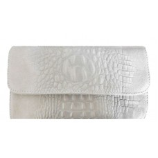 Кожаная женская сумка- клатч Bottega Carele BC504-beige бежевая