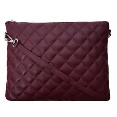 Кожаный клатч Bottega Carele BC513-bordo бордовый