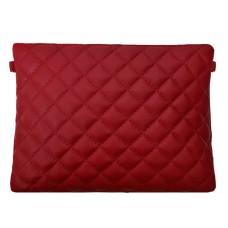 Кожаный клатч Bottega Carele BC513-red красный
