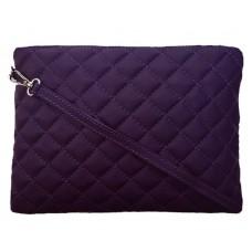 Кожаный клатч Bottega Carele BC513-purple фиолетовый