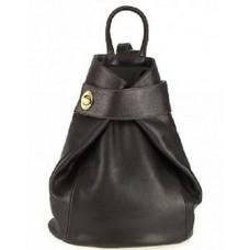 Кожаный женский рюкзак Bottega Carele BC7092-dark-brown темно-коричневый