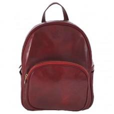 Кожаный рюкзак Bottega Carele BC718-red красный
