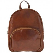 Кожаный рюкзак Bottega Carele BC718-ginger рыжий