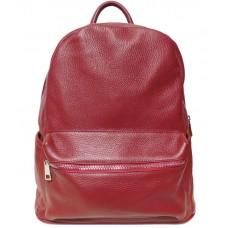 Шкіряний рюкзак Bottega Carele BC719-red червоний